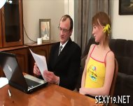 Lusty Offering For Old Teacher - scene 5