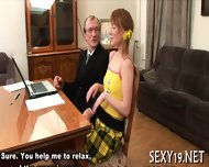 Lusty Offering For Old Teacher - scene 7