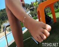 Hot Doll Shares Her Massive Tits - scene 1