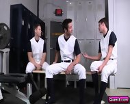 Andrew Lines Up 4 Hot Twink Asses And Fucks Them All! - scene 3