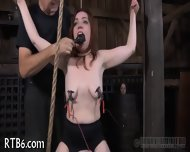 Beauty Tears Up During Torture - scene 12