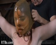 Beauty Tears Up During Torture - scene 6