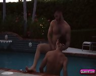 Angel Rock And Dalton Pierce Have Sex In Kitchen And Pool - scene 8