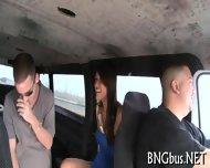 Busty Babe Imbibes A Hard Pecker - scene 1