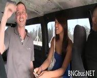 Busty Babe Imbibes A Hard Pecker - scene 7