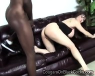 2 Very Gifted Brothas Take Turns To Smash A Big Boobed Cougar - scene 6