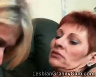 These Slutty Grannies Get Curious About Their Sexuality - scene 3