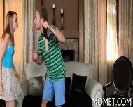 Lewd Cunnilingus During Threesome - scene 4