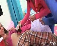 Sexy And Wild Blowbang Delight - scene 1