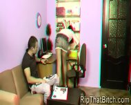 A Filthy Stud Forced An Innocent Teen In 3 Dimensions - scene 2