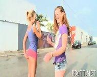 Guy Bangs Three Hotties - scene 10
