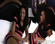 Ebony Teenie Craves For Wild Lechery - scene 5