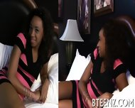 Ebony Teenie Craves For Wild Lechery - scene 6