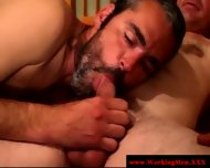 Hairy Gaysex Biker Sucked And Tugs - scene 3