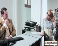 Hot Boss Kathia Nobili Likes Her Shoes And Pussy Clean - scene 1