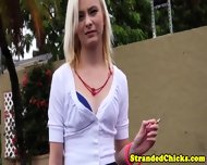 Stranded Smalltits Teen Gets A Messy Facial