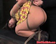 Tied Up Bdsm Slut Vivi Marie Ass Spanked - scene 10