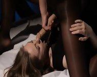 Lezzies Having Intercourse In Front Of Mirror - scene 5