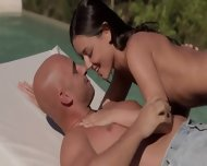 Two Couples Sex Together Outside - scene 3