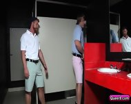 Two Gays Bennett Anthony And Tom Faulk Have Sex On Toilet - scene 3