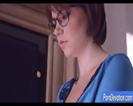 Busty Wife Marina Visconti In Glasses Banged On The Bed - scene 3