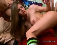 Roman Toga Babes Get Facialed By Stud Viking - scene 3