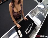 Girl Got Fucked For The Chain She Pawned At The Pawnshop - scene 1