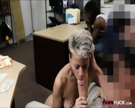 Black Bf Let The Pawn Man Fuck Her Girl For Being Desperate - scene 9