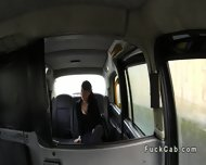 British Amateur Sucks Cock Pov In Fake Taxi - scene 1