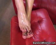 Oily Feet Interracial Cum - scene 12