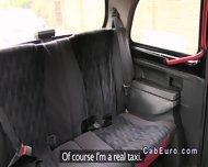 Redhead Upskirt Flashing In Fake Taxi - scene 1