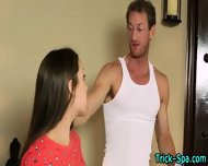Teen Babe Rubbed Down - scene 6