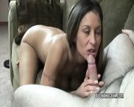 Leeanna Heart Is Giving An Awesome Blowjob - scene 8