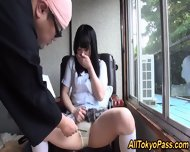 Japanese Teen Gets Jizzed - scene 3