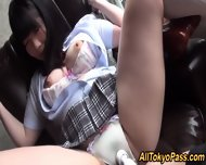 Japanese Teen Gets Jizzed - scene 5
