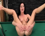 Elegant Cunt Masturbation On The Billiards - scene 11