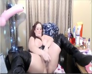 Pawg Playing With Her Toys - scene 9
