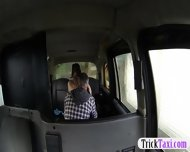 Busty Amateur Pussy Fucked And Creampied By Pervert Driver - scene 4