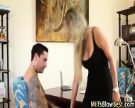 Blowing Milf Swallows Cum - scene 2