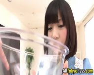 Piss Drinking Asian Teen - scene 3