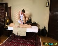 Babe Rubbed By Masseur - scene 2
