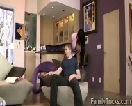 Horny Stud Smashes His Gorgeous Big Boobed Step Mom - scene 6