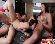 Horny Stepmom Corners Rileys Bf And She Gets Hardcore Fucking - scene 11