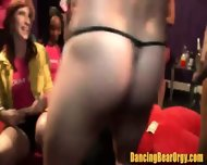 Amateur Girls Film Their Night With The Strippers - scene 3