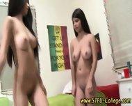 Lesbo Teen Pussy Muncher - scene 4