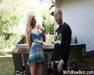 Big Tit Blonde Milf Blows - scene 4