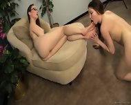 Lesbian Foot Slave - scene 12