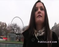 Hungarian Amateur Sucking In Public Pov - scene 3