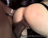Big Boobed Cougar Loves Her Black Lovers Huge Black Bone - scene 5