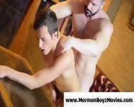 Young Straight Guy Assfucked By Older Gay Man - scene 5